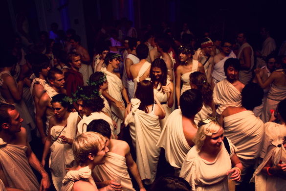 Greek life stereotypes - all about the parties