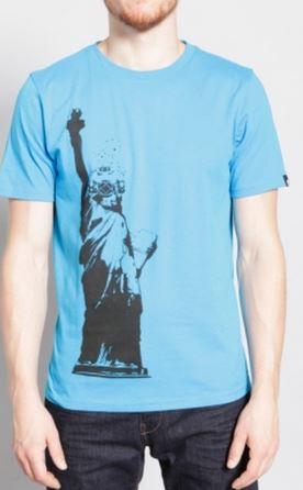 Liberty Diver - Men's Graphic T-Shirt