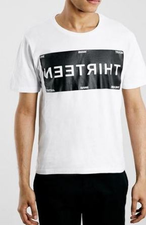 Selected Homme Sport White T-Shirt