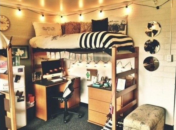 How to make your dorm room seem bigger!