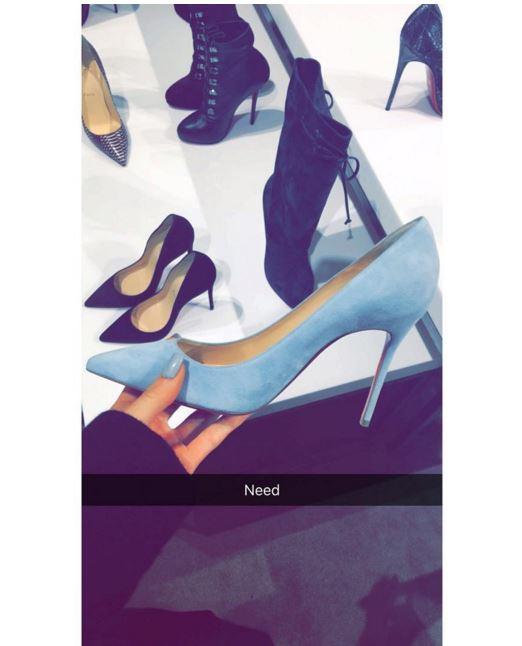 Kylie Jenner's snapchats!