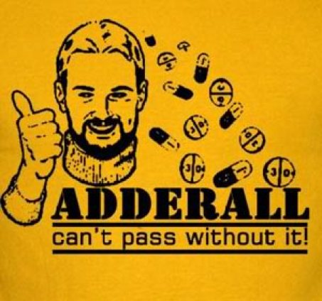 funny adderall sign