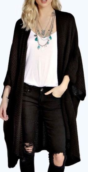 Fall sweaters you need in your closet this season - Long black cardigan