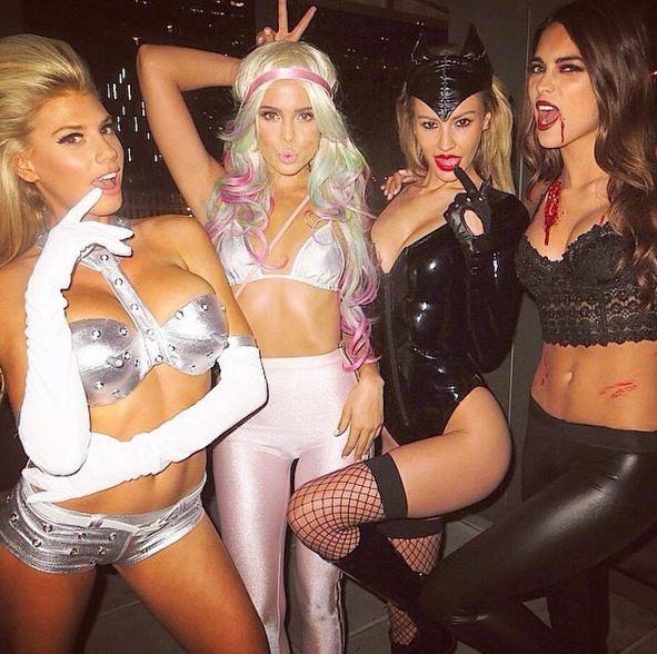 halloween Slutty party college