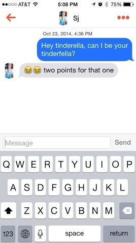 The messenger on Tinder can be a pain.