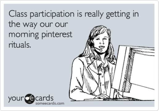 class participation ecard