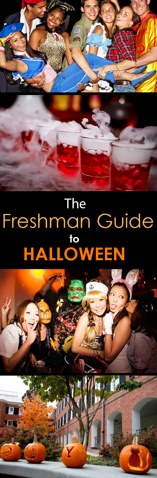 The Freshman Guide to Halloween in College - Society19
