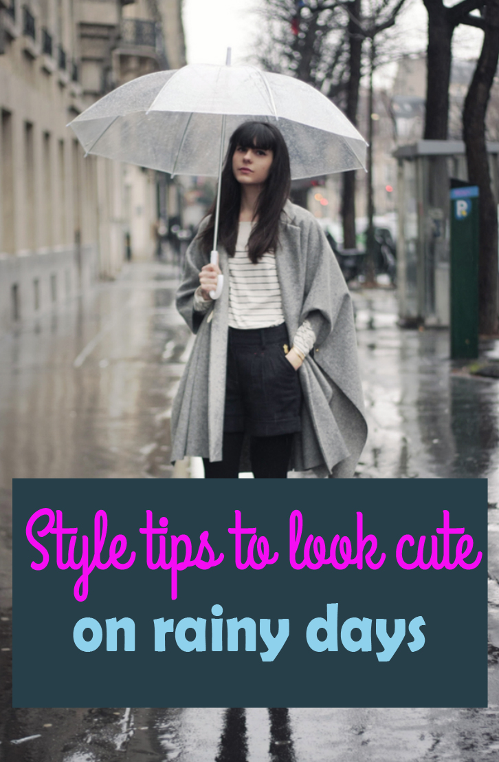 It's possible to look cute in the rain!