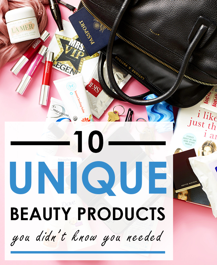 10 Unique Beauty Products You Didn't Know You Needed