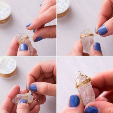 This jewelry making kit looks so cute!