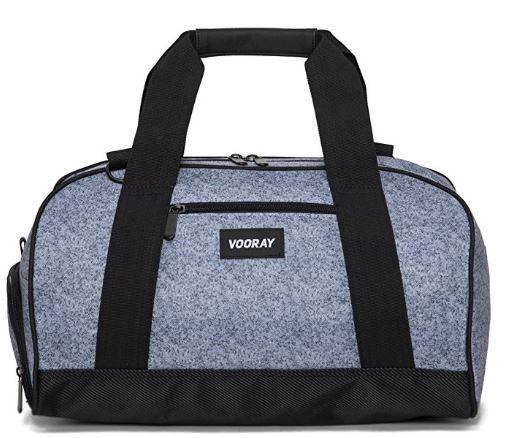 Awesome gray gym bag