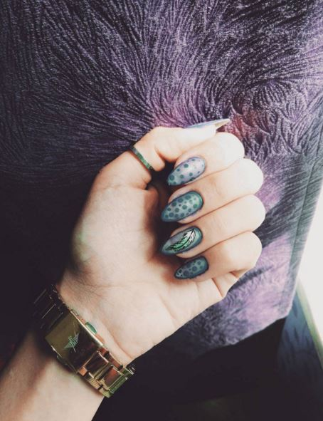 Sheer colors are perfect if you want to be more bold with your nails.