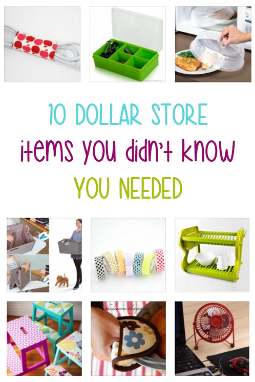 10 Dollar Store Items You Didn't Know You Needed