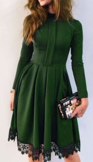 I love this holiday winter dress!