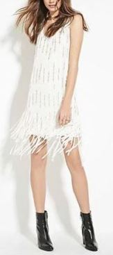Contemporary Sequined Shift Dress