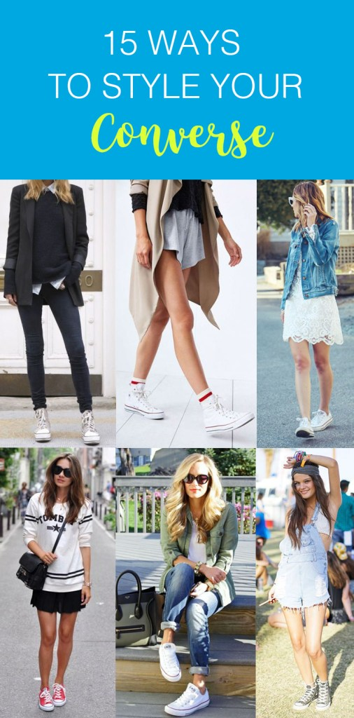 These are the cutest ways to style your converse!