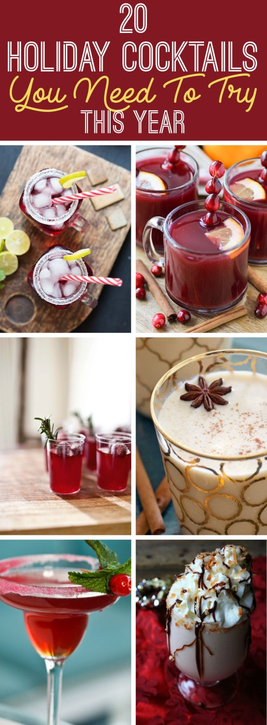 These are the best holiday cocktail drinks and recipes you need to try!
