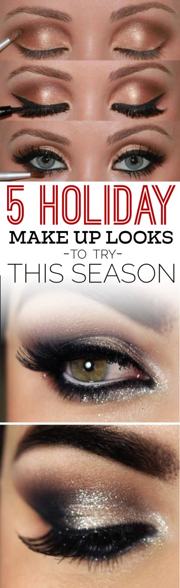 These 5 holiday makeup looks are everything you need to try this season!