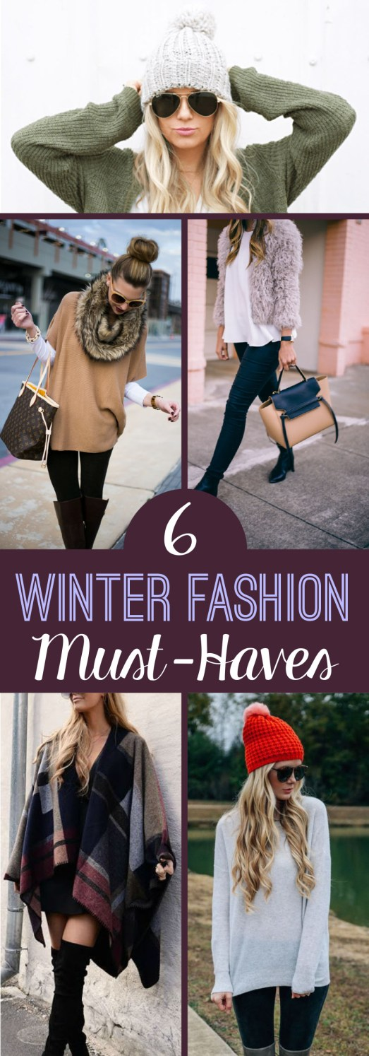 These are the fashion must-haves you need this winter!