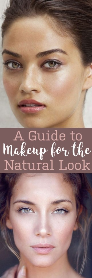 Here's a complete makeup guide for the natural look!