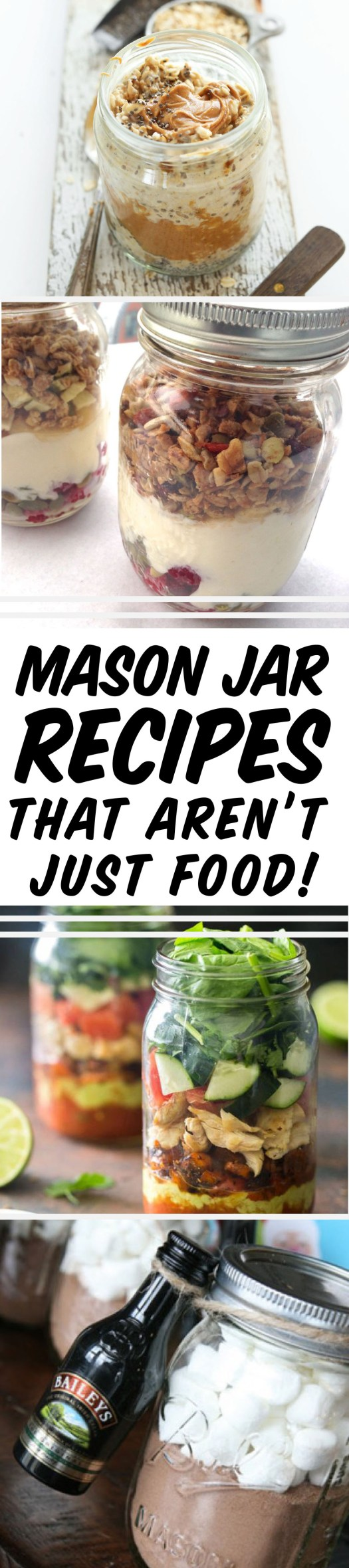 Mason jar recipes you need in your life!