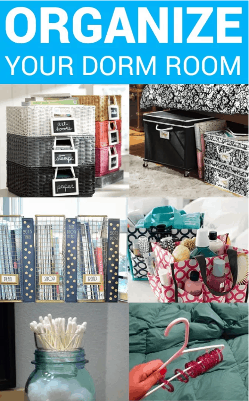 Ho to Organize Your Dorm Room With These 6 Dollar Store Items