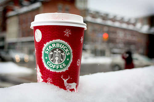 Starbucks is the best during this time of year