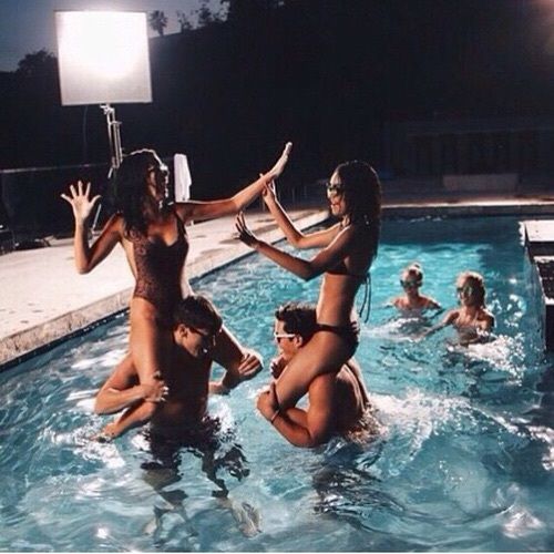 Have a pool party for your birthday