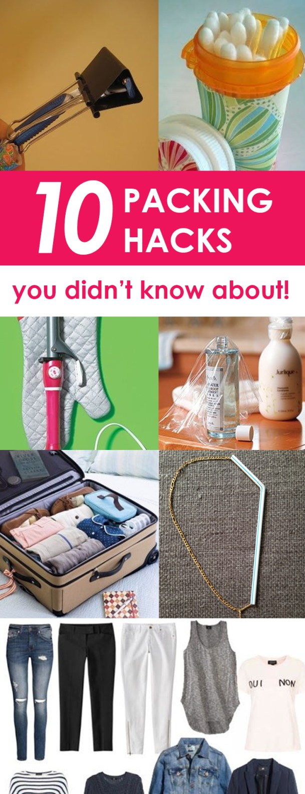 11 Packing Hacks You Didn't Know About