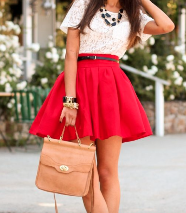 This is such a cute Valentine's day outfit!