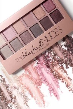 The Maybelline blushed Nudes Palettes are great makeup dupes!