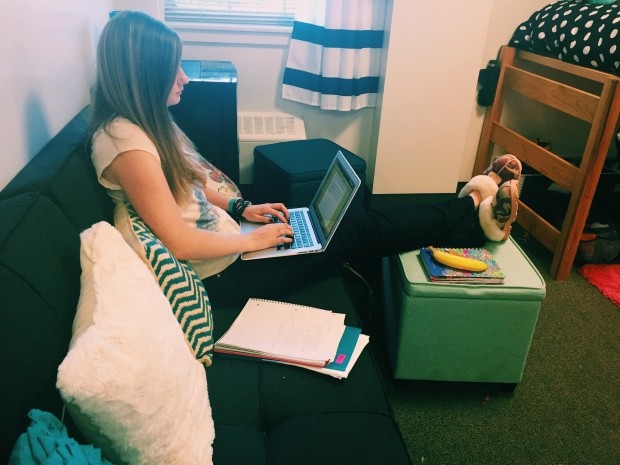 Studying in your room is the best place!