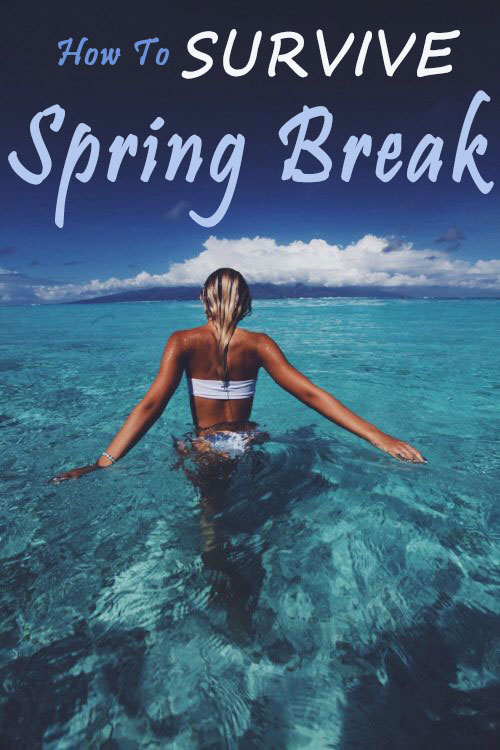 How To Survive Spring Break 2018!
