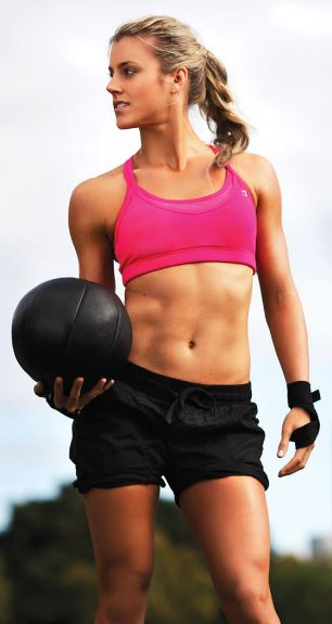 Love this fitness blogger!