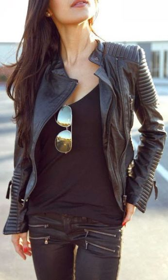 Great leather jacket!