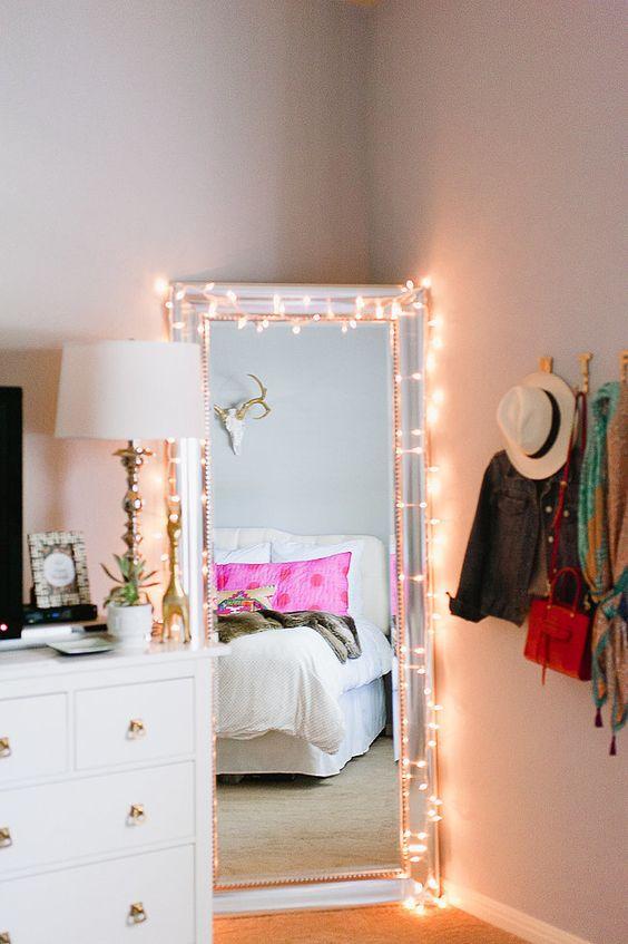Every fashion savvy girl needs a full-length mirror!