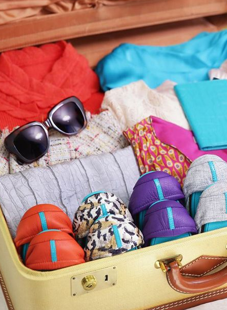 suitcase packing hack