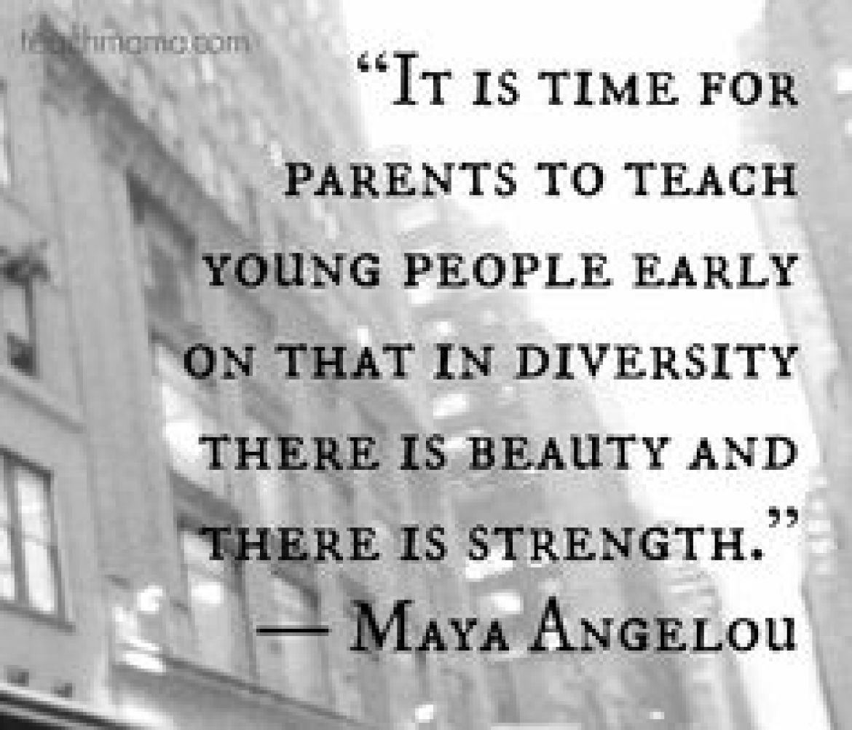 nice Maya Angelou quote