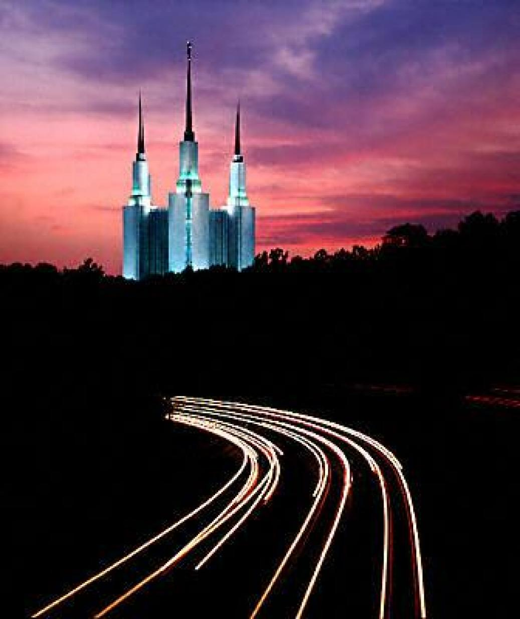 cool pic of Mormon Temple Maryland
