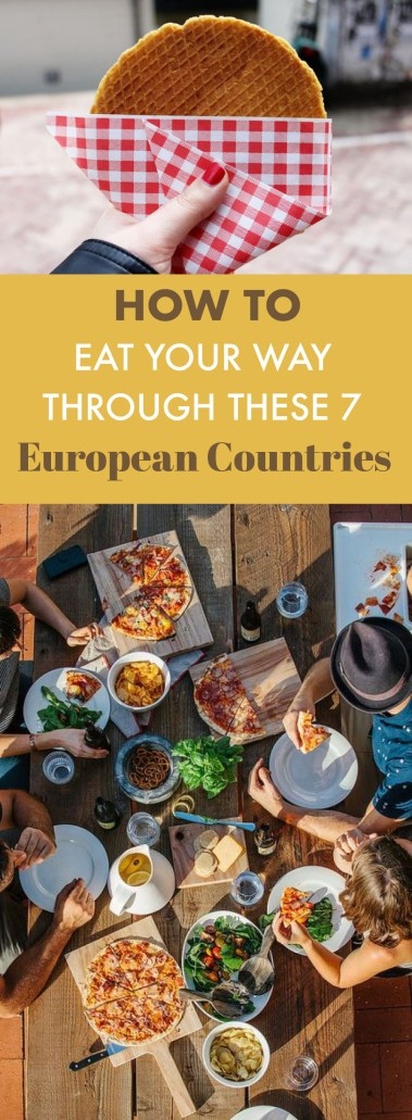 This is the food you should be eating when in Europe