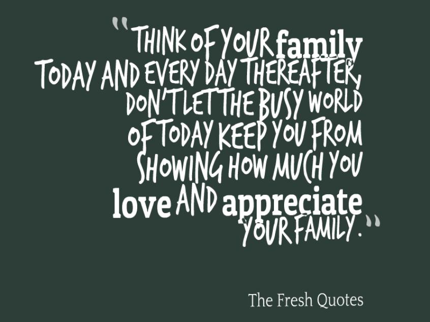 nice family quote