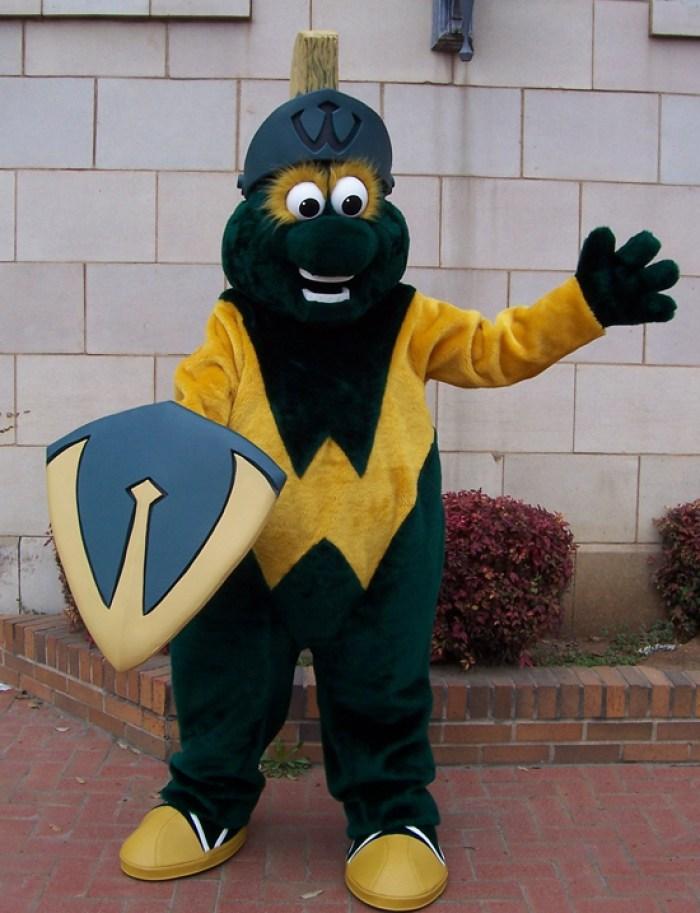Wayne State Warrior mascot