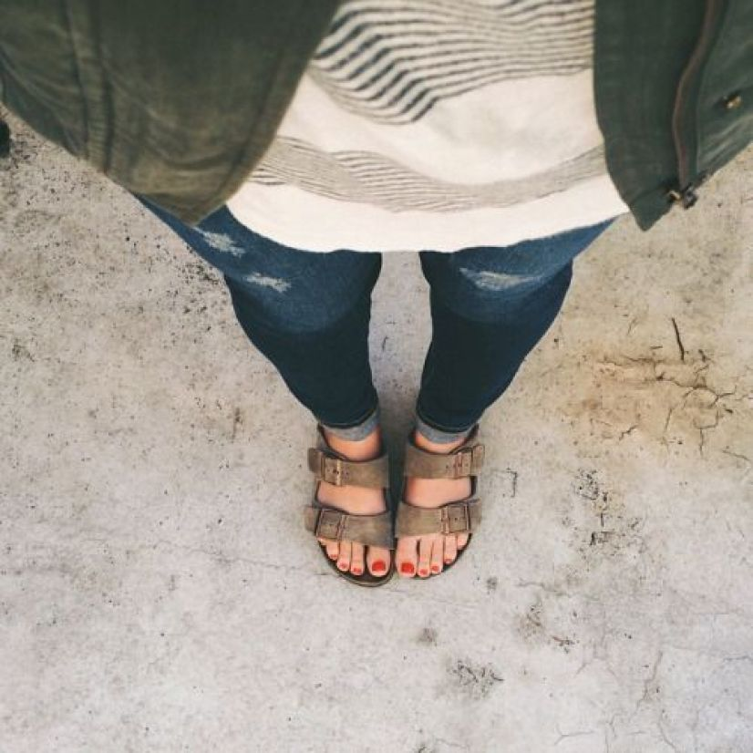 Wear birkenstocks at college orientation!