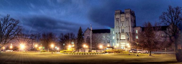 cool Virginia Tech campus pic