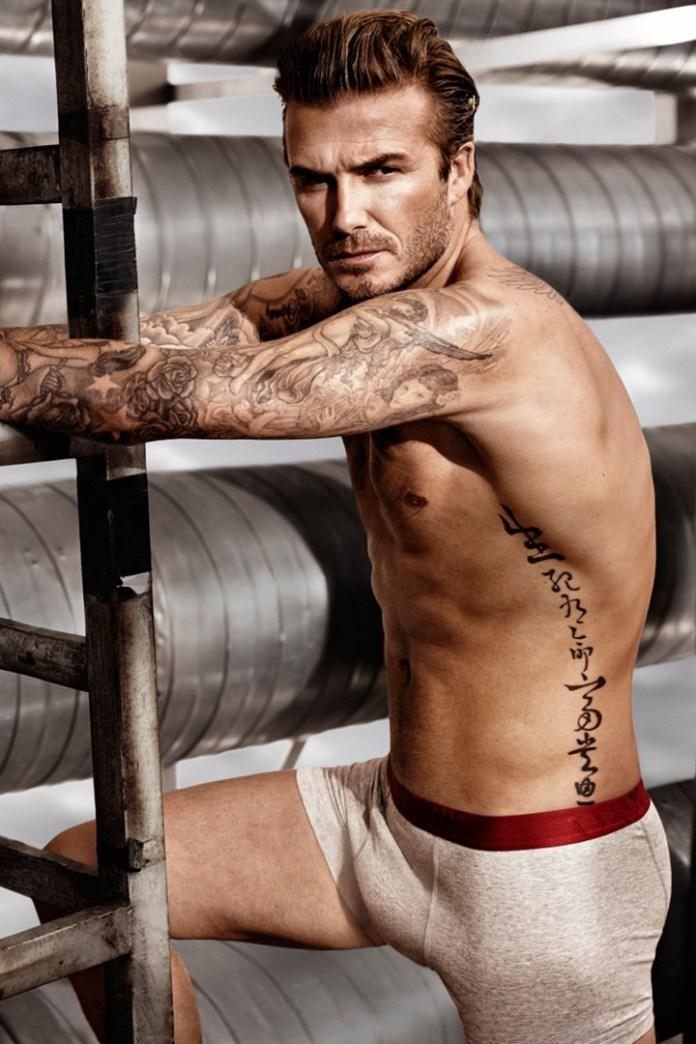 David Beckham looking great per usual