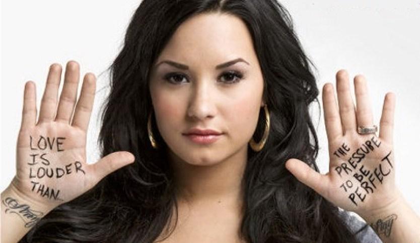 cool Demi Lovato body image pic