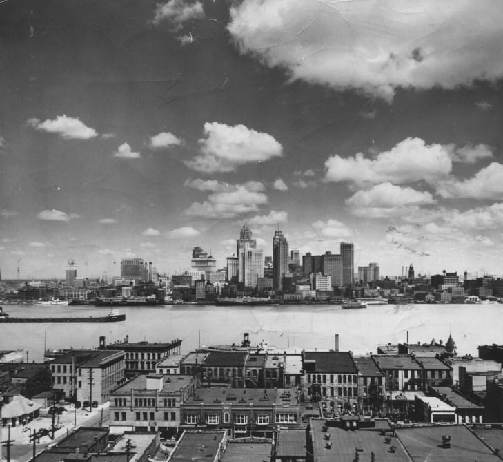 cool Detroit skyline pic