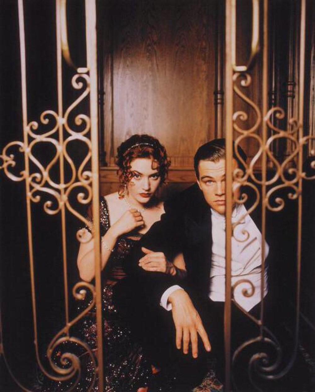 cute Titanic elevator pic