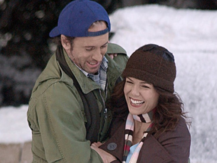 cute Luke & Lorelai pic