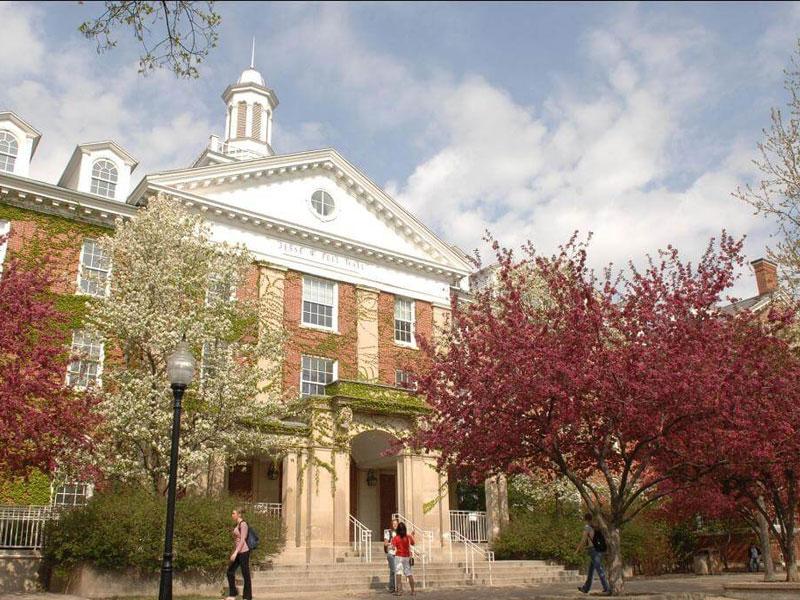 beautiful Illinois State campus pic